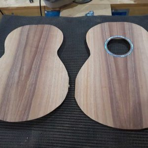 Top & back plates