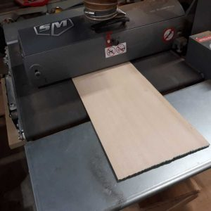 3. Sanding sitka spruce top material