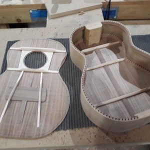 12. Top braced and ready to fit to body